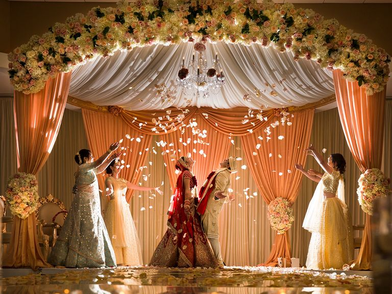 indian wedding reception ideas 5 best creative ways to decor your wedding venue 27858